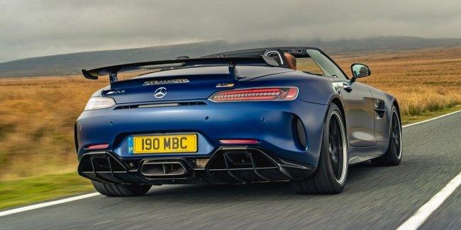 Mercedes–AMG готовит электрический кабриолет?