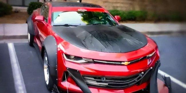 Посмотрите на очень странный Chevrolet Camaro, похожий на снегоочиститель