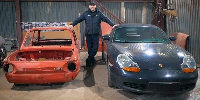 Посмотрите каким бы мог быть украинский Porsche?