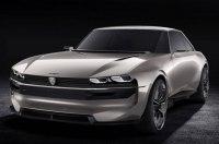 Peugeot представила электрокар e-Legend в стиле купе полувековой давности