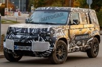 Новый Land Rover Defender впервые замечен на тестах