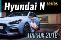 Париж 2018: Hyundai N Performance - ставка на спорт
