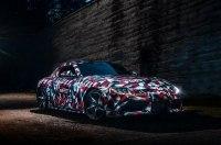 Интерьер новой Toyota Supra: первое изображение