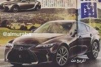 Новый Lexus IS будет выглядеть вот так