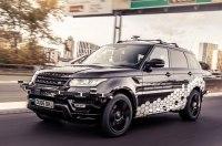 Автономный Range Rover Sport проехал по самой сложной трассе в Ковентри