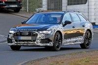 Audi вывела на испытания новый A6 Allroad