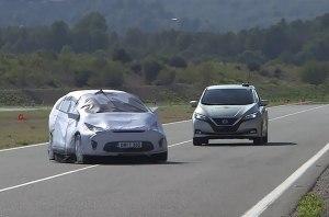 В Euro NCAP впервые испытали беспилотные системы