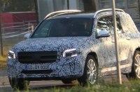Mercedes-Benz GLB-Class с прицепом застали на тестах