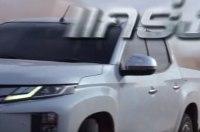 Пикап Mitsubishi L200 с дизайном вэна Xpander показали на видео