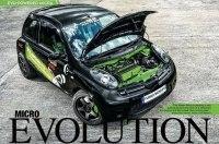В Nissan Micra уместили начинку от Lancer Evo: 400 сил и полный привод