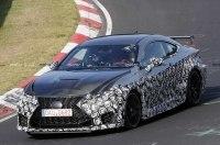 """Трековый Lexus RC F GT застали на """"Нордшляйфе"""""""