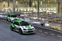 Skoda устроила гонку игрушечных машинок по своему заводу