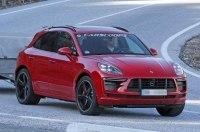 Porsche Macan Turbo впервые засекли на тестах без камуфляжа