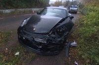 Ведущий Top Gear разбил личный Porsche