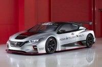 Nissan Leaf второго поколения превратили в гоночный электрокар