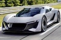 Дизайнеры Audi хотят запустить в серию электрический гиперкар PB18 e-tron