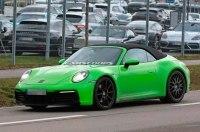 Porsche начал тесты нового кабриолета 911