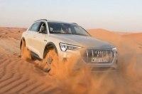 Тестируем Audi e-tron. Зарыли в песке! Сам выедет?