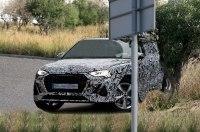 Первые фотографии с испытаний Audi Q4