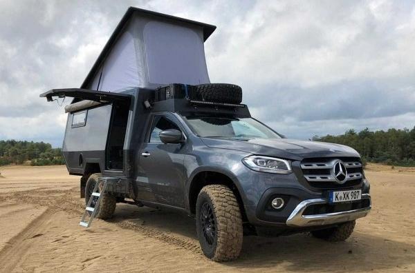 Дом на колесах от Mercedes за 205 000 долларов