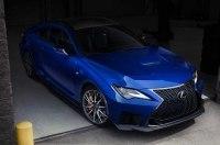 Японцы представили обновленный Lexus RC F