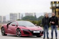 Незрячий турецкий психолог разогнался на Honda NSX до 244 км/ч