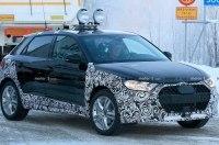 В Сети появились фото вседорожной версии субкомпактного хэтчбека Audi A1 в камуфляже