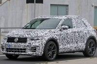 Фотошпионы поймали на тестах 300-сильную версию VW T-Roc