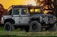 Ателье Himalaya оснастили Land Rover Defender мотором от Corvette