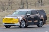 Первые шпионские фото совершенно нового Toyota Highlander
