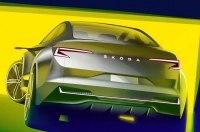 Первые изображения концепт-кара Skoda Vision iV
