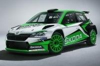 Skoda Fabia R5 примерит новую внешность и более мощный мотор