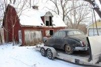 На заброшенной ферме нашли старый Jaguar, про который забыли на 36 лет