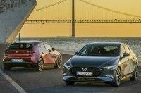 В Европу Mazda 3 будет поставляться с тремя вариантами моторов