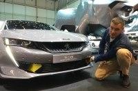 Новый гибридный концепт от Peugeot - 508 Sport Engineed