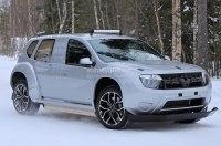 Renault вывел на тесты полностью электрический Duster