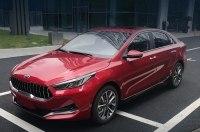 Обновленный седан KIA K3 c решеткой в духе Maserati