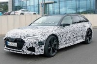 Засняли финальный серийный облик модели RS6 от Audi