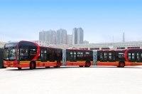 Самый длинный электробус в мире