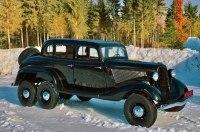 Редчайший шестиколесный вариант ГАЗ-М1 выставили на продажу
