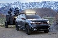 Volkswagen представил экспериментальную версию кроссовера Atlas