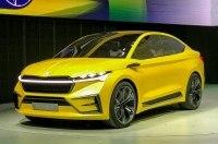 Skoda представила в Шанхае концептуальное кросс-купе Vision iV