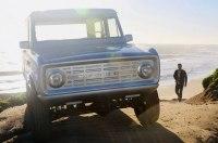 Полностью электрический Ford Bronco выпустят мелкой серией