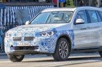 Электрический внедорожник BMW iX3 был замечен в Мюнхене на тестах