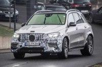 «Заряженный» кроссовер Mercedes-AMG GLE 63 замечен журналистами