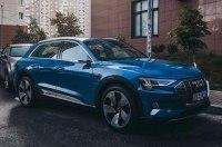 В Украине появились первые электромобили Audi e-tron