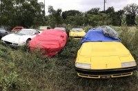 Кладбище заброшенных суперкаров Ferrari