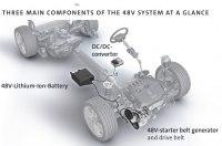 Volkswagen показал новую мягкую гибридную систему для Golf 2020