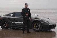 Британский мотогонщик установил мировой рекорд скорости на песке