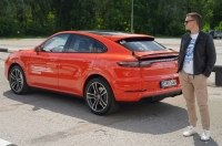 InfoCar.ua протестировал Porsche Cayenne Coupe 2020